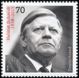 FRG MiNo. 3429 ** 100th birthday Helmut Schmidt, MNH