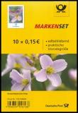 FRG MiNo. FB 82 (3431) ** cuckooflower, foil sheet, self-adhesive, MNH