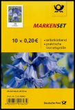 FRG MiNo. FB 83 (3432) ** bluebell, foil sheet, self-adhesive, MNH