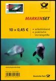 FRG MiNo. FB 84 (3437) ** The porpoise, foil sheet, self-adhesive, MNH