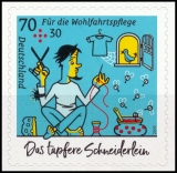 FRG MiNo. 3444 ** The brave little tailor, self-adhesive, MNH