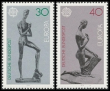 FRG MiNo. 804-805 set ** Europe: Sculptures, MNH