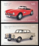 FRG MiNo. 3143-3144 set ** Classic German Cars, MNH