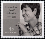 FRG MiNo. 3448 ** 100th Birthday Hannelore Loki Schmidt, MNH