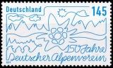 FRG MiNo. 3458 ** 150 years German Alpine Club, MNH