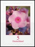 FRG MiNo. 3459 ** Permanent series Flowers: Phlox, self-adhesive, MNH