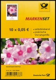 FRG MiNo. FB 87 (3459) ** Series Flowers: Phlox, foil sheet, self-adhesive, MNH