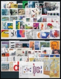 FRG Year 2000 ** MiNo. 2087-2155 incl.sheet 52-53 + stamps from sheets + 2140C/D