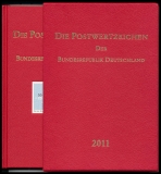 Yearbook 2011 Postage stamps of the Federal Republic of Germany without stamps