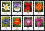FRG MiNo. 3468-3475 set ** Permanent series Flowers: various flowers, MNH