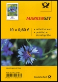 FRG MiNo. FB 88 (3481) ** Series Flowers: Cornflower, foil sheet, self-adh., MNH