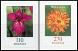 FRG MiNo. 3489-3490 set ** Flowers: Wildgladiolus & Hawkweed, self-adh., MNH