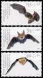 FRG MiNo. 3485-3487 set ** Youth Series 2019: Bats, MNH