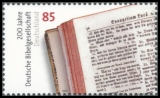 FRG MiNo. 2955 ** 200 years German Bible Society, MNH