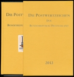 Yearbook 2013 Postage stamps of the Federal Republic of Germany without stamps