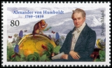 FRG MiNo. 3492 ** 250th birthday Alexander von Humboldt, MNH