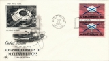 UNO New York MiNr. NT-NY 243 FDC Non-prolification of nuclear weapons
