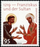 FRG MiNo. 3498 ** 1219 - Francis and the sultan, MNH