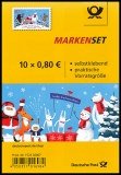 FRG MiNo. FB 95 (3505) ** Christmas with friends, foil sheet, self-adhesive, MNH