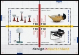 FRG MiNo. Block 45 (2001-2004) ** Design in Germany, MNH