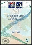 GB MiNo. 1151/1152 se-tenant o Exhibition Card No. 2 Sydpex Edinburgh