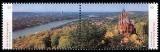 FRG MiNo. 3510/3511 se-tenant ** Series panoramas: Bonn/Siebengebirge, MNH