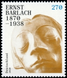 FRG MiNo. 3514 ** 150th birthday of Ernst Barlach, MNH