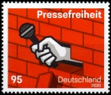 FRG MiNo. 3515 ** Freedom of the press, MNH