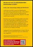 FRG MiNo. MH 116 (3520) ** 250th birthday Beethoven, stamp set, self-adh., MNH