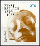 FRG MiNo. 3521 ** Ernst Barlach, self-adhesive, MNH