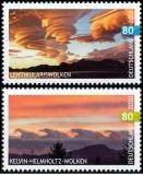 BRD MiNr. 3527-3528 Satz ** Kelvin-Helmholtz- & Lentikularis Wolken, postfrisch
