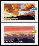 FRG MiNo. 3531-3532 set ** Kelvin-Helmholtz & Lenticular Clouds, self-adh., MNH
