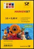 FRG MiNo. FB 99 (3534) ** Sesame Street, foil sheet, self-adhesive, MNH