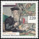 FRG MiNo. 2918 ** 500th birthday of Gerhard Mercator, MNH