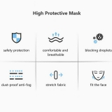 ZhuYi Medical KN95 Face Mask Adult Anti-Fog Haze Dustproof Mask
