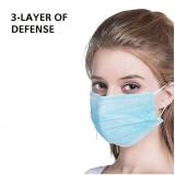 3-lagige Gesichtsmaske Professionelle staubdichte Anti-Grippe-Maske