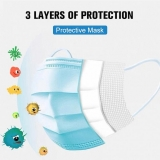 3-Layer Face Mask Professional Dust Proof Anti Flu Mask
