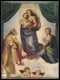 FRG MiNo. Block 79 (2919) ** 500 years Sistine Madonna, sheetlet, MNH