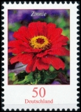 FRG MiNo. 3535 ** Permanent series of flowers: zinnia, MNH