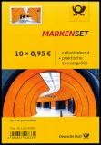 FRG MiNo. FB 100 (3541) ** Marienplatz Munich, foil sheet, self-adhesive, MNH