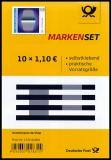 FRG MiNo. MH 119 (3540) ** Two Shades of Grey?, stamp set, self-adhesive, MNH