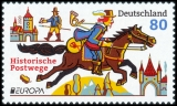 FRG MiNo. 3545 ** Series Europe 2020: Historic postal routes, from block 86, MNH