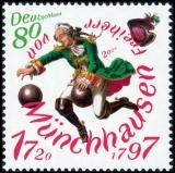 FRG MiNo. 3546 ** 300th birthday Baron of Munchausen, MNH