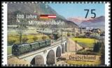 FRG MiNo. 2951 ** 100 years Mittenwaldbahn, MNH