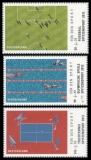 FRG MiNo. 2924-2926 ** Sports Aid 2012: European Championship, Olympics, World Cup, MNH