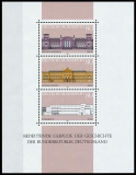 FRG MiNo. Block 20 (1287-1289) ** basic ideas of democracy (VI), MNH