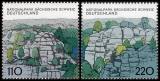 FRG MiNo. 1997-1998 set ** German national and nature parks, from block 44, MNH