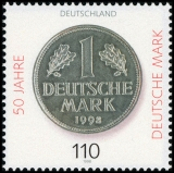 FRG MiNo. 1996 ** 50 years German mark, MNH
