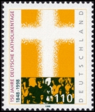 FRG MiNo. 1995 ** 150 years of the German Catholic Days, MNH