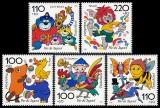 FRG MiNo. 1990-1994 set ** youth 1998: cartoon characters (I), MNH